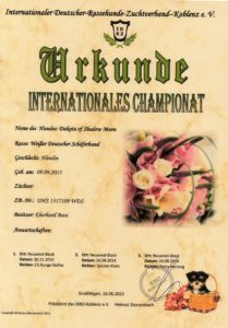 Internationales Championat Dakota