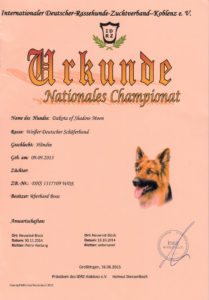 Nationales Championat Dakota